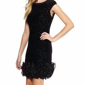 Jessica Simpson velvet bornuot dress size 6